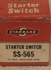 STANDARD IGN STARTER SWITCH # SS-565; Fits;  FORD, LINCOLN & MERCURY;  1956-1965