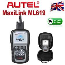 Autel ML619 AL619 Auto Car Fault DTC ABS SRS Code Reader OBD2 Diagnostic Scanner