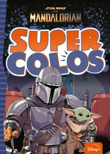 Disney Star Wars Mandalorian Adult Colouring Book Scifi Yoda Boba Fett IG-88
