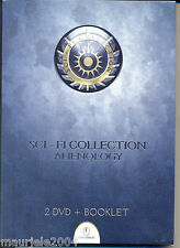 Sci-fi collection. Alienology (2009) Cofanetto 2 DVD + Booklet NUOVO Extraterres