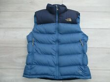 The North Face Mens Nuptse 2 Gilet Vest Goose Down 700 Fill M Blue Body Warmer