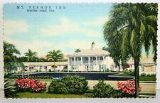 Unposted Mt. Vernon Inn - Winter Park Fl Postcard