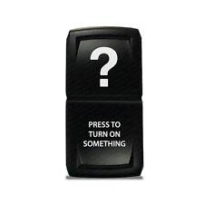 CH4X4 Rocker Switch V2 Press to Turn ON Something Symbol - Green Led