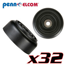 "32 Pack Penn Elcom F1558 Rubber Cabinet Foot 1.5"" Dia. x 0.625"" H Heavy-duty"