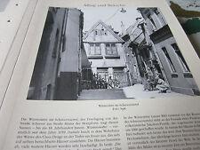 Bremen Archiv 6 Alltag 6031 Wüstestätte im Schnnorviertel