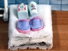 White Wash Accessories, Dolls House Bathroom Accessory. Miniature, Miniatures