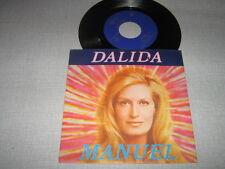 DALIDA 45 TOURS BELGIQUE MANUEL