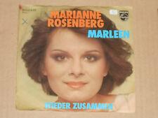 """MARIANNE ROSENBERG -Marleen- 7"""" 45"""