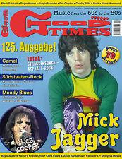 GoodTimes 4-2013 - Mick Jagger, Alice Cooper, Camel, Moody Blues, 125. Ausgabe