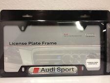 Audi Carbon Fiber Audi sport License Plate Frame