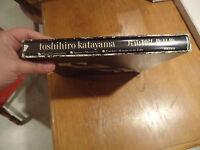 """""""Toshihiro Katayama"""" signed by Toshirio. Art book 1st edition 1981"""