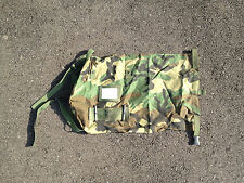 PROTECTIVE CARRYING ENSEMBLE/BAG. Used *US Military Surplus*  Woodland Camo