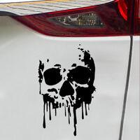 7 Inch Bloody Skull Car Sticker Bleeding DIY Bumper/Laptop/Window/Box Decal Top