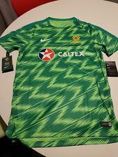 NEW Caltex Australia Socceroos Nike Official Training Jersey Medium BNWT Rare!