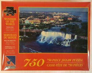 Sure-Lox Jigsaw Puzzle Wonders of the World Niagara Falls USA 39x60cm 750pcs