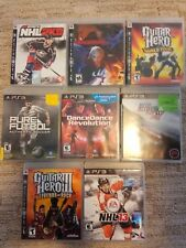 PS3 Lot Devil May Cry 4 Guitar Hero Need for Speed DDR 8 Games