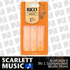 Rico Tenor Sax Saxophone Reeds 3 Pack Reed Size 1.5 3PK (1 1/2 - One and a Half)