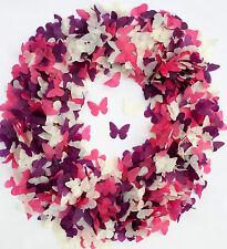 Rosa Mariposa Púrpura Confeti Lavanda BLANCO PAPEL DE SEDA Adornos Boda