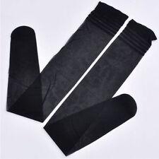 Women Summer Extra Long Boot Socks Over Knee Thigh High Girl Long Stocking Black
