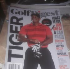 GOLF DIGEST FEBRUARY 2018 COVER FEATURE TIGER WOODS *NEW RETAIL ISSUE, NO LABEL*
