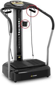 Gymrex Fitness Slim Full Body Vibration Plate Platform Trainer up to 120kg Black