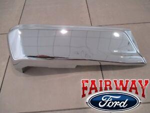 15 thru 20 Ford F150 OEM Genuine Ford Rear Chrome Step Bumper w/o Prox LH Driver