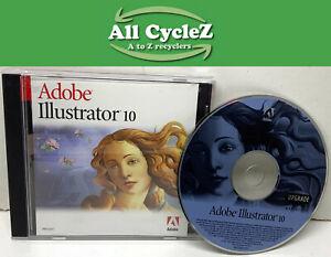 Adobe Illustrator 10.0 Upgrade for Mac Genuine!