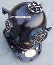 Scuba Nautical Divers Diving Helmet -Antique Us Navy Diving Helmet Reproduction