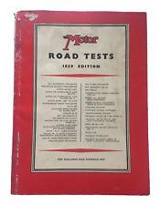 Motor Road Tests 1959