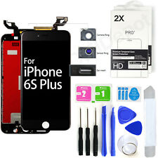 For Black iPhone 6S Plus <LCD Display Touch Screen Replacement Kit+2 Protectors>