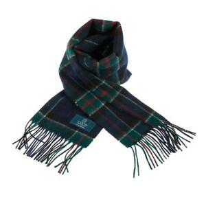 Scottish 100 % Lambswool Tartan Clan Scarf Colquhoun Brand New Made In Scotland