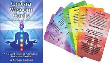 Chakra Wisdom Cards- 2017 - A 49-card Oracle and Affirmation Deck plus Booklet