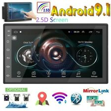 Android9.1 Car Radio 2Din GPS 7'' 2.5D Touch Screen MP5  Andriod/IOS Mirror Link