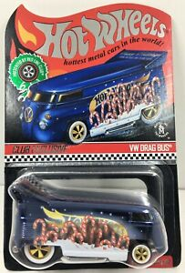 Hot Wheels *Redline Club Xmas VW Drag Bus **1 of 10000 Made*In Protector Pack