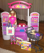 Barbie Toys R Us Kid Doll 50th Anniversary 1997 w/ Barbie Toy Store 1998 Lot