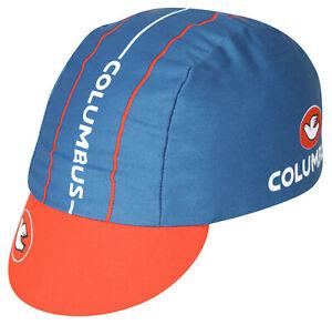 COLUMBUS PEACE Team Cycling Cap NEW Bike Hat Free Ship !