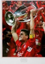 STEVEN GERRARD Giant signed LIVERPOOL PIC Great Value Bid From £37.50