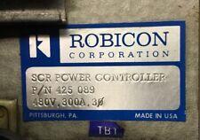 Robicon 425 089 480V 3Ph 300A Scr Power Controller. 4A