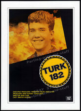 TURK 182!__Original 1984 Trade Print AD promo / poster__TIMOTHY HUTTON_BOB CLARK