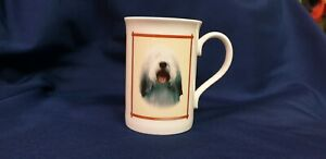 Bearded Collie bone china mug - beautiful dog gift