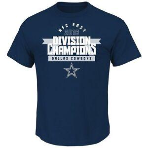 Dallas Cowboys 2016 Division Champions t-Shirt- Navy
