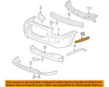 Buick GM OEM 2005 Terraza Front Bumper-Side Molding Right 15108496