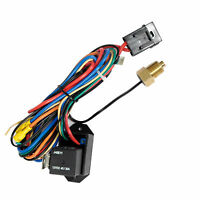 NEW Adjustable Electrical Cooling Fan Controller Kit thread-in Probe with Relay
