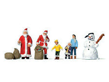 Preiser 79226 - Figuren Weihnachtsmänner - Spur N - NEU