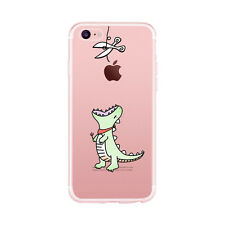 Soft Rubber TPU Silicone Gel Phone Back Case Cover For Apple iPhone 5S 6S 7 Plus