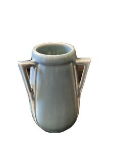 Beautiful Vintage Rookwood Arts & Crafts Pottery Vase Buttressed 3 Handles Nice