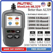 AUTEL ML329 Automotive OBD2 Code Reader Scanner Car Diagnostic Engine Check Tool