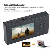 VHS Camcorder Hi8 Tape Converter Audio Video Capture to Digital AV Recorder @do