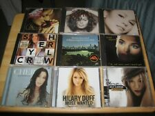 Cher Mariah Celine Janet Jackson Barbara Streisand  etc. CD Collection 9 Incl!