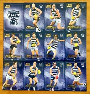 2020 SELECT AFL DOMINANCE SERIES GEELONG CATS CARD SET